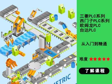 中堂PLC编程培训费用-中堂学PLC编程培训运料小车控制系统