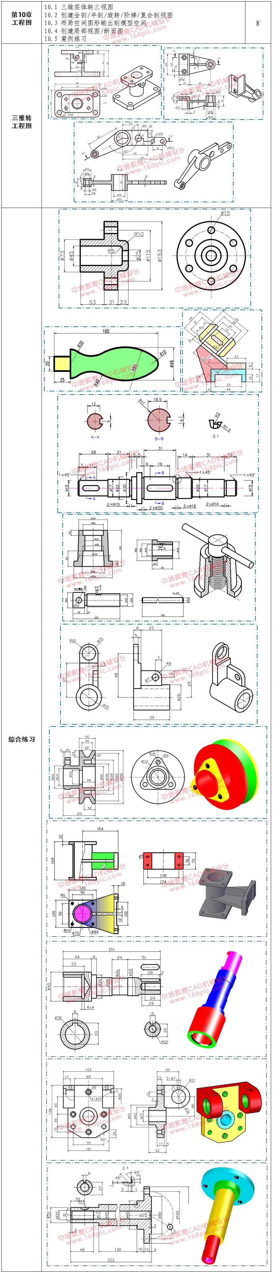 长安CAD培训机械设计目录